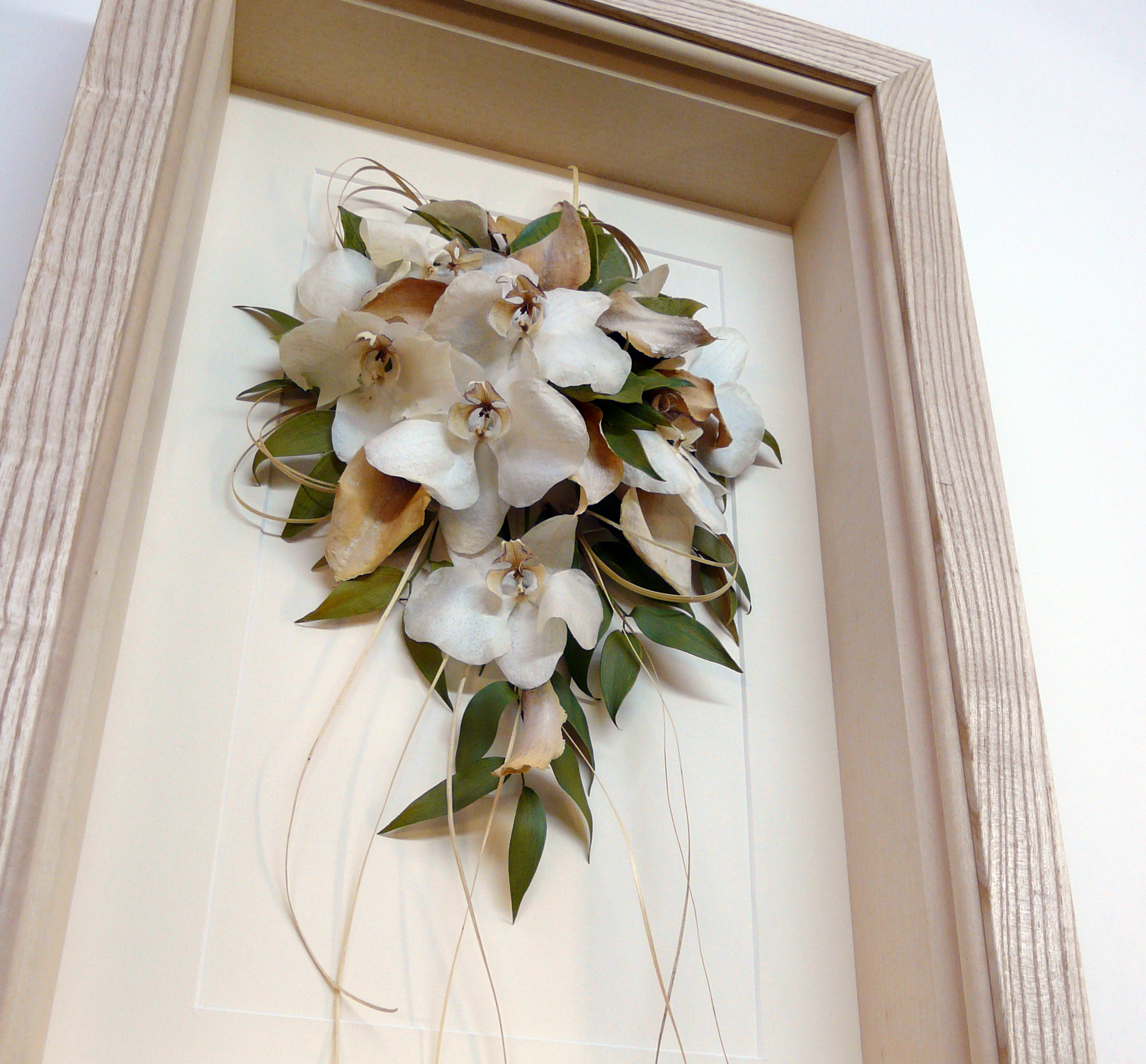 Framing and Preserving a Wedding Bouquet | Simon Robinson & Son